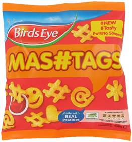 Birds Eye MASHTAGS