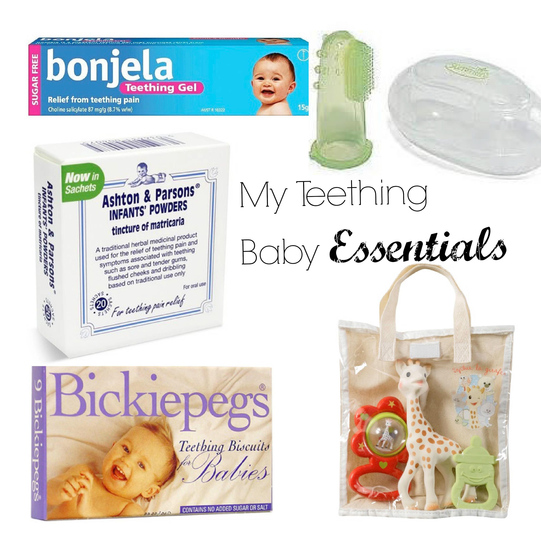 Baby Teething Essentials