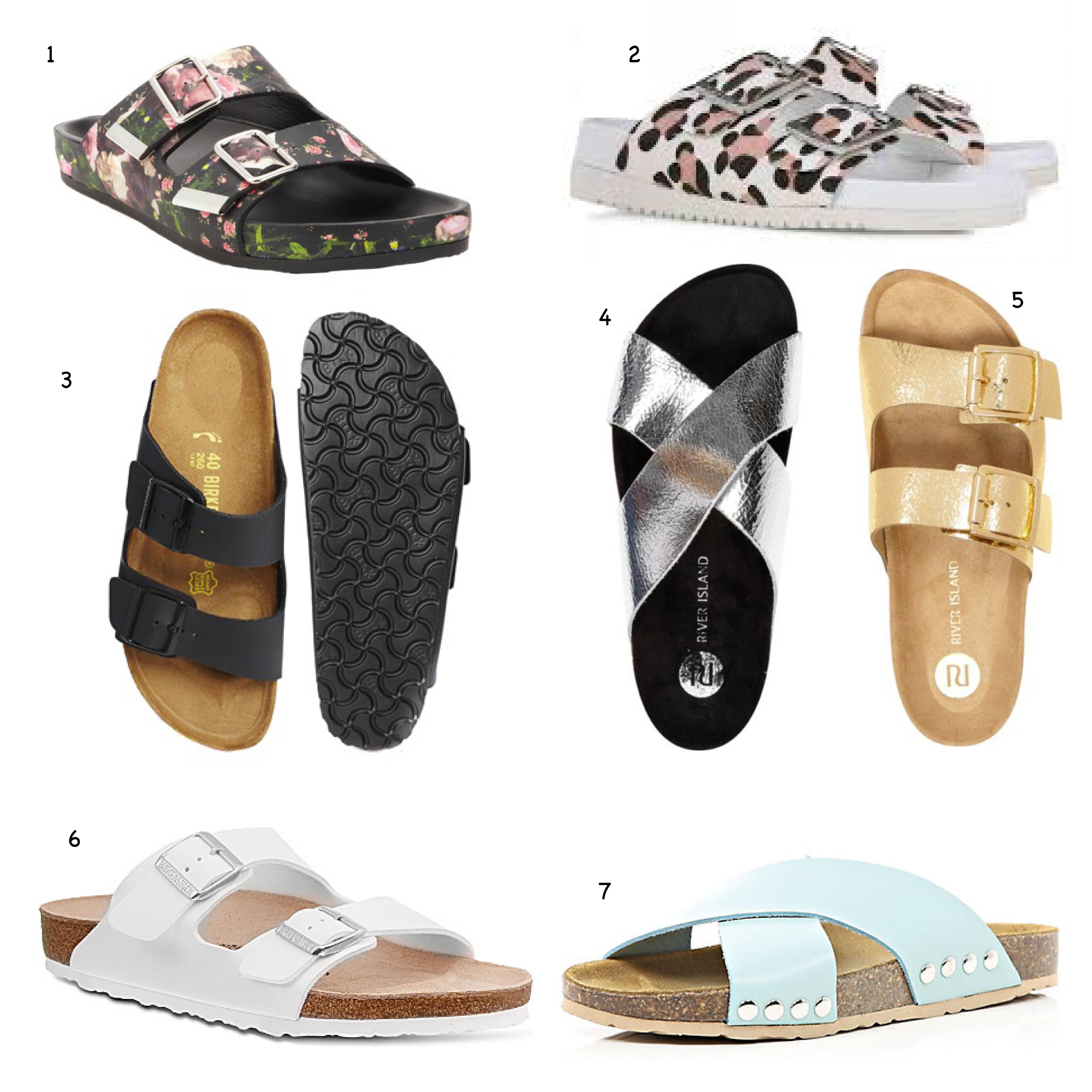 0e7f4299a6d Birkenstock Style Sandals