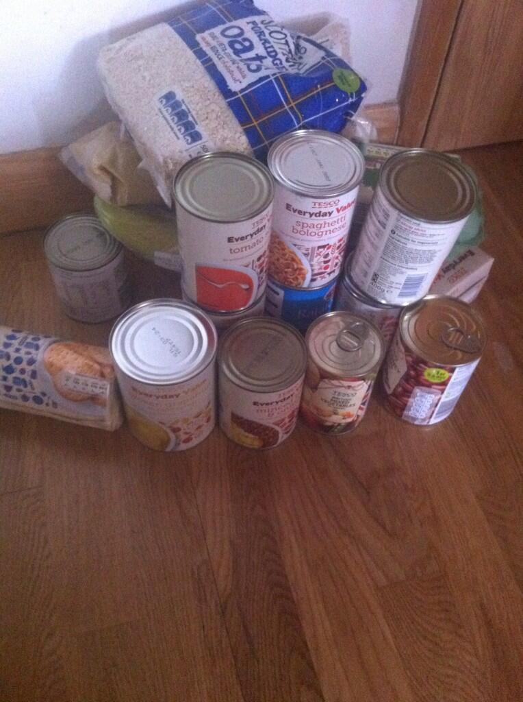 Neighbourhood Food Collection Challenge