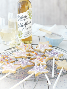 Elderflower Wand Biscuits Recipe