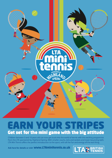Highland Spring Mini Tennis Month