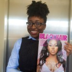 Look what arrived today!! My first issue of blackhairmags brownbeauty
